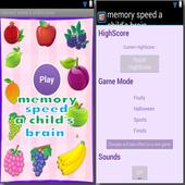 memory speed a child's brain 1.0