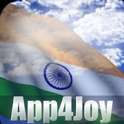 3D India Flag Live Wallpaper 4.1.4