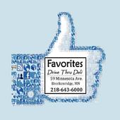 Favorites Drive Thru Deli 4.4.13