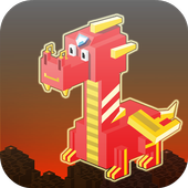 Dragon Adventures : Cube World 1.0
