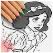 drawing for disney cartoons 1.01