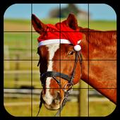 Tile Puzzles · Horses 1.28.ho