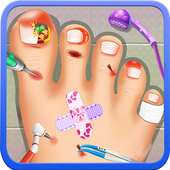 Doctor Kids game : Nail Doctor 1.0