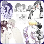 Kiss Me Emoji Love Stickers 1.01