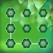 Green Flower - Applock Theme 1.5