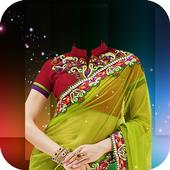Women Saree Photo Frames 2.0