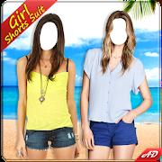 Teenage Girl Shorts Suit 1.1