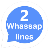 2 lines for whassap 1.0