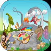Dinosaurs Coloring Book Kids 1.0