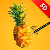 Pen Pineapple Apple Pen 3D 1.2