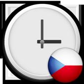 Czech Republic Clock Widget 1.0