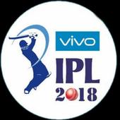 Vivo IPL 2018-Live scores Update & Schedules 1.0