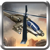 Heavy Apache Gunship Helicopter 3DAppzoceanAction