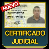 Certificado Judicial Consulta Cedula Colombiana 1.03