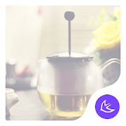 Afternoon tea time - APUS launcher theme 2.0