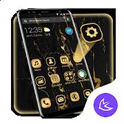Business Golden Black APUS Launcher theme 1