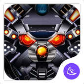 Future Tech Alloy Mech-APUS Launcher theme 47.0.1001