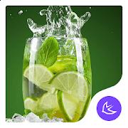 Lime-APUS Launcher theme 668.0.1001