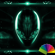 Alien Emerald Xperien Theme 1.0.7