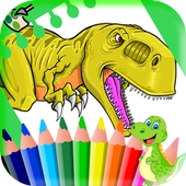 New Dinosaurs Coloring Book 1.7