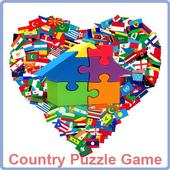 Country Puzzle Game
