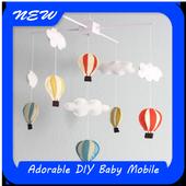 Adorable DIY Baby Mobile 1.0