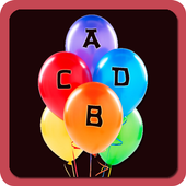ABCD Balloon game/Learn ABCD 1.5
