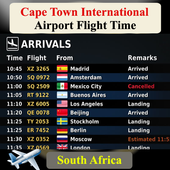 Cape Town Airport Flight Time 1.1