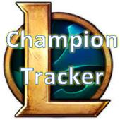 League of Legends Champion Tracker 1.0
