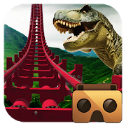 Real Dinosaur RollerCoaster VRApp Teeka - 3D HD Racing and VR GamesSimulation
