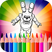 Coloring Book for Five Nights