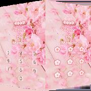 Pink Flower Theme – AppLock 1.0.3