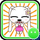 Stickey Cartoon Dog Girl 1.1.3