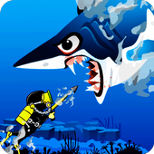 AngryShark : Scuba Fishing 1.0