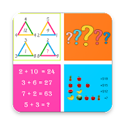 Math Challenges PRO 2018 - Puzzles for Geniuses 1.00