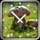 Mushrooms Clock Widget 1.0