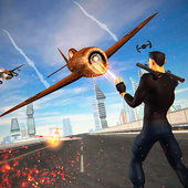 Flying Superhero Crime Fighter Rescue 2018 1.0