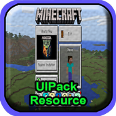 Resource Pack UIPack for MCPE 1.0.0
