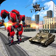 US Army Robot Transform : Battle Simulator 1.0