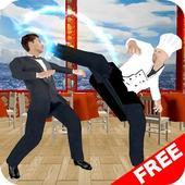 Restaurant Fight. Chef Fighter