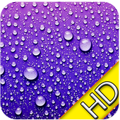 3D Raindrops Wallpaper 1.1