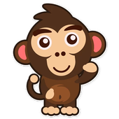 Happy Monkey Sticker For Wastickerapps 300 Apk Download