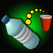 Flip and Shoot the Bottle Pong 3D