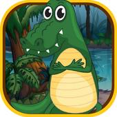 Jungle Crocodile Run