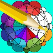 Coloring Pages–Geometry Design