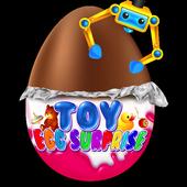 Surprise Eggs - Chocolate Kids Eggs Prize Toys 1.2