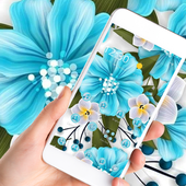 Beauty Blue Flower Theme 1.1.2