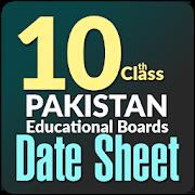 10th Class Date Sheet 1.0.0
