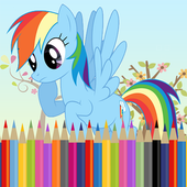 Cute Litle Pony Beautiful - Coloring Book 1.0