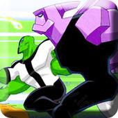 Ben Alien Omniverse Force Fighting 2